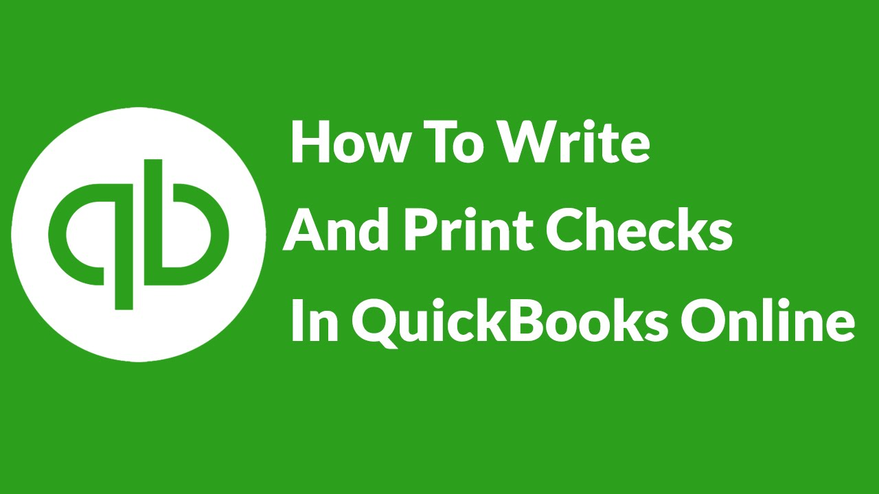 image regarding Printable Checks for Quickbooks named How In the direction of Publish And Print Exams Inside QuickBooks On the web