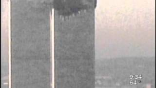 2nd Plane Hit on 9/11/01, Empire State Bldg. Metrocam zoom