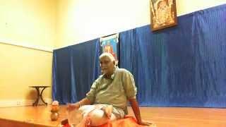Day 1-Kathopanishad Discourse by Shri Bannanje Govindacharya at SKV Temple, San Jose