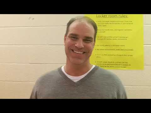 Interview with Coach Davis from Northern Guilford Middle School, boys basketball coach