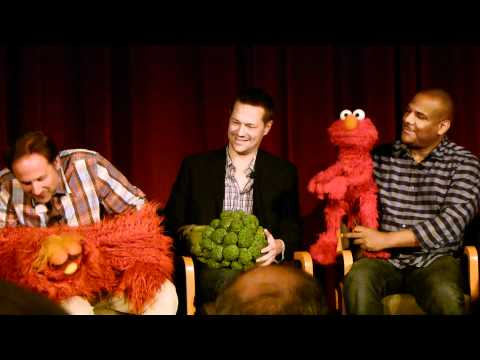 Elmo and friends at Sesame Street: The Evolution of a Revolution