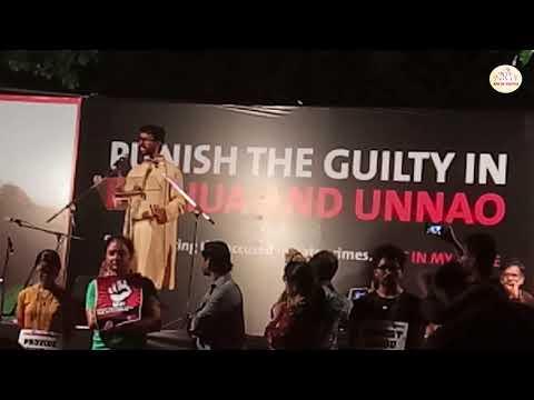 Not in my name justice for asifa | Talib hussain speech at jantar mantar | #Justiceforasifa