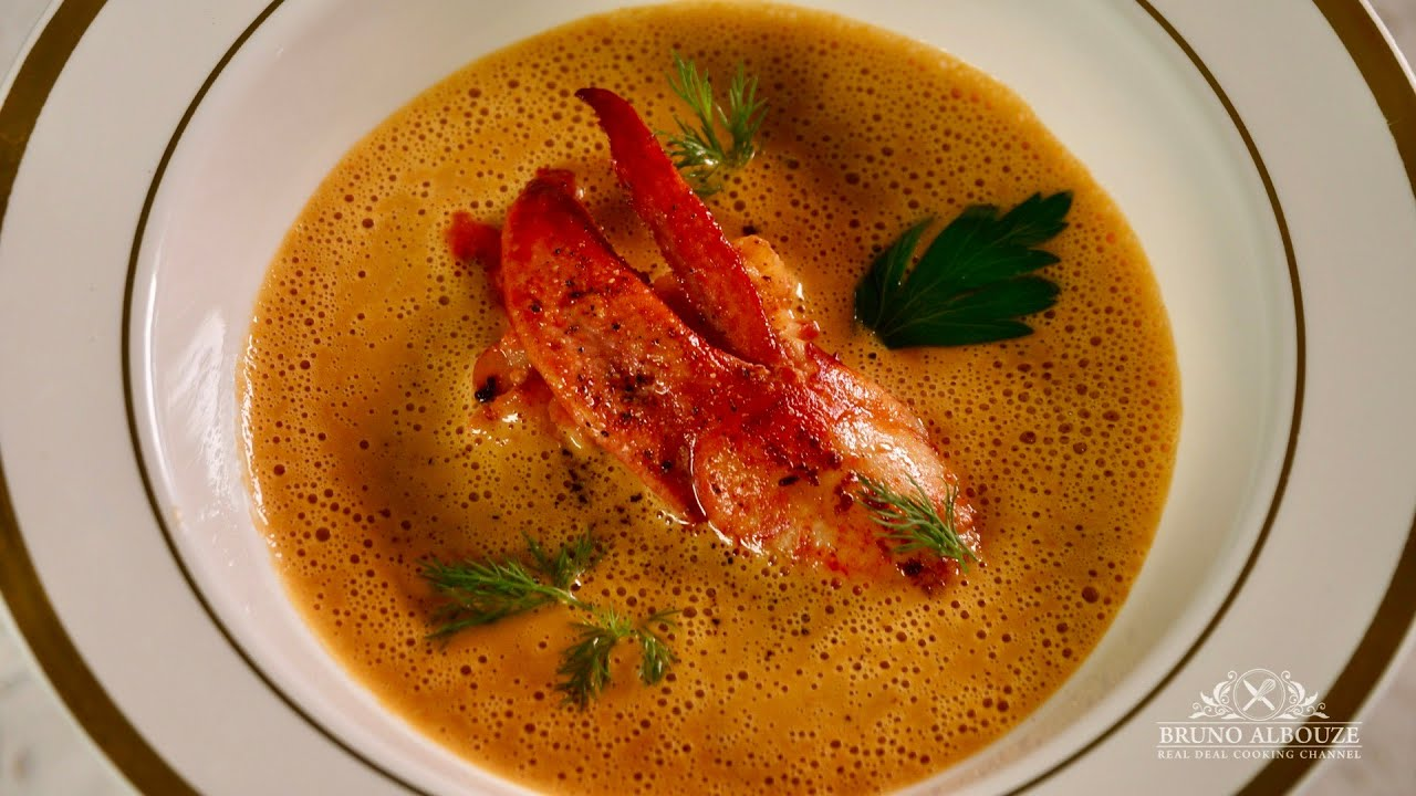 Classic Lobster Bisque Bruno Albouze The Real Deal