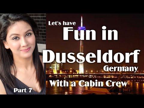 Dusseldorf Germany | Cabin Crew | Mamta Sachdeva | Aviation | Travel | Part 7 |