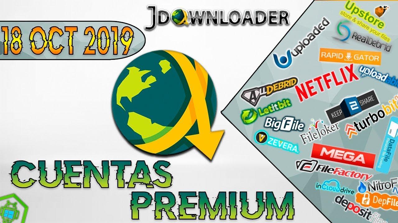 Cuentas Premium Jdownloader 2 Database 2019 Full By Weedcrackman
