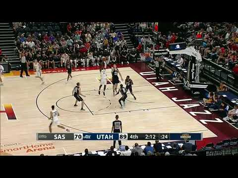 San Antonio Spurs PF Chimezie Metu - 2018 NBA Summer League Highlights