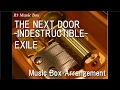 THE NEXT DOOR -INDESTRUCTIBLE- feat. FLO RIDA/EXILE [Music Box]