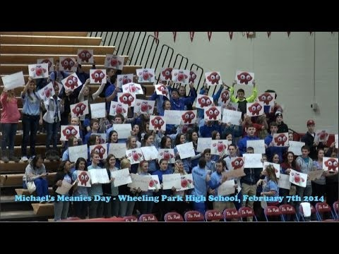 Michael's Meanies Day - February 7th 2014 at Wheeling Park High School