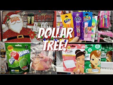 DOLLAR TREE CHRISTMAS LIP BALM TOYS WALK THROUGH 2018