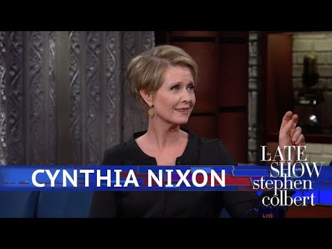 Cynthia Nixon Isn't Just Running To Make A Point
