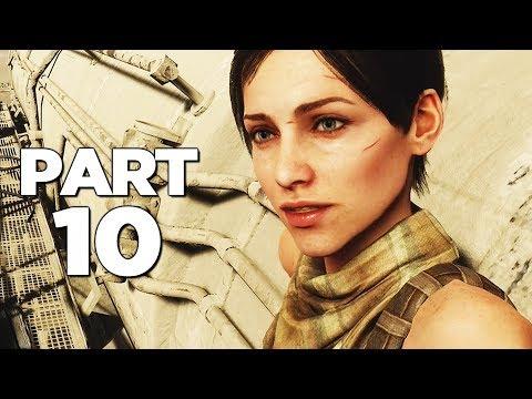 METRO EXODUS Walkthrough Gameplay Part 10 - THE CASPIAN (Xbox One X)