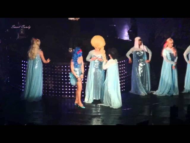 [150110] Special Stage Let'it go Elsa Part-Introduce SuperJunior SuperShow6 in Bangkok