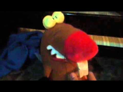 Daggett from the Angry Beavers Toy + Plush from 1998
