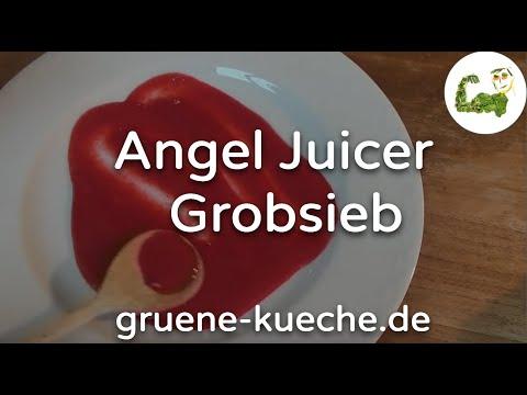 Grobes Sieb - Angel Juicer Siebe ausprobiert (Teil 3/6)