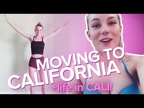 Moving to California!