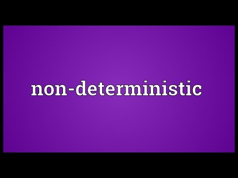 Non-deterministic Meaning