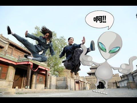 ��嚎】中国功夫穿越时空击败外星人入侵
