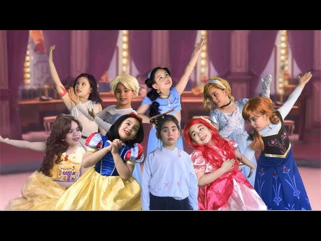 RALPH BREAKS THE INTERNET EXTENDED VERSION-ALL PRINCESSES|1 KID = ALL PRINCESSES|