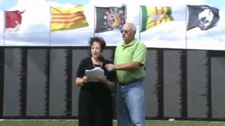 Vietnam Wall Joanie speech 2011.mpeg