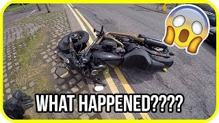 Youtuber hits pothole and crashes brand new Harley-Davidson motorcycle thumbnail