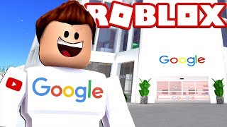 SPENDING MIS ROBUX IN A GOOGLE OFFICE Cerso roblox in Spanish