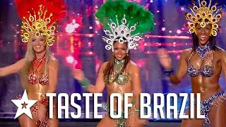 Sexy Samba Dancers Audition On France's Got Talent! Got Talent Global