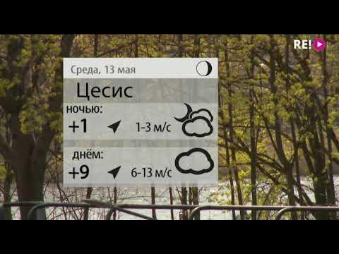 Прогноз погоды на 13.05