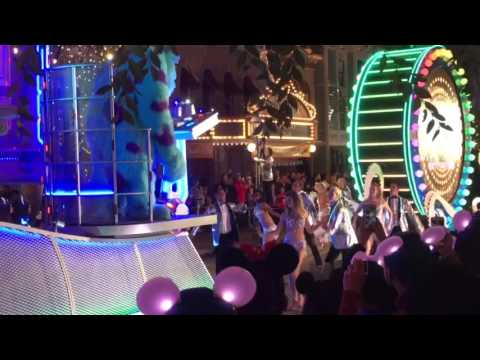 Disneyland 60th TV Special Filming - Dancing with the Stars & Paint the Night