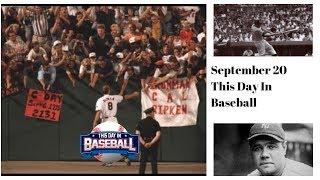 Babe Ruth major league mark of 27 home runs in a season