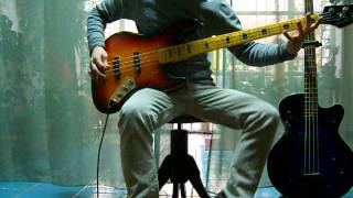 Litfiba - Re Del Silenzio (bass cover)