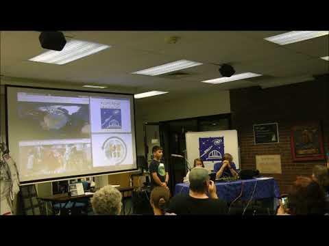 Kopernik Observatory ARISS contact 2018