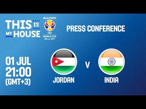 Jordan v India - Press Conference - FIBA Basketball World Cup 2019