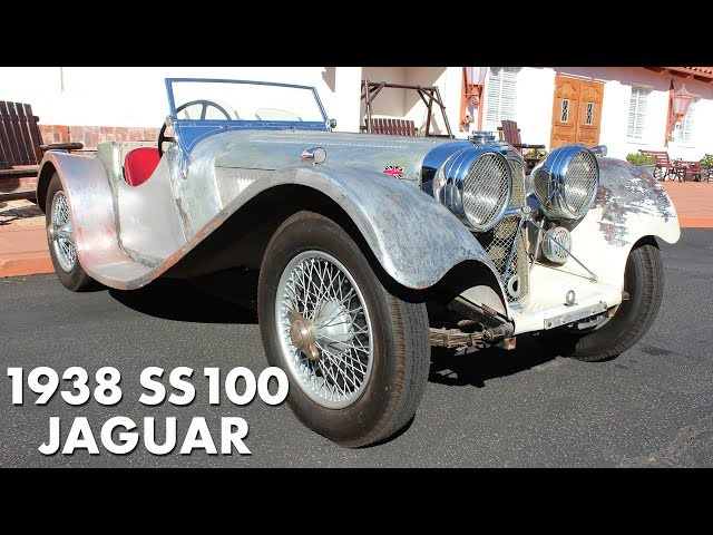 In the Shop: 1938 SS100 Jaguar