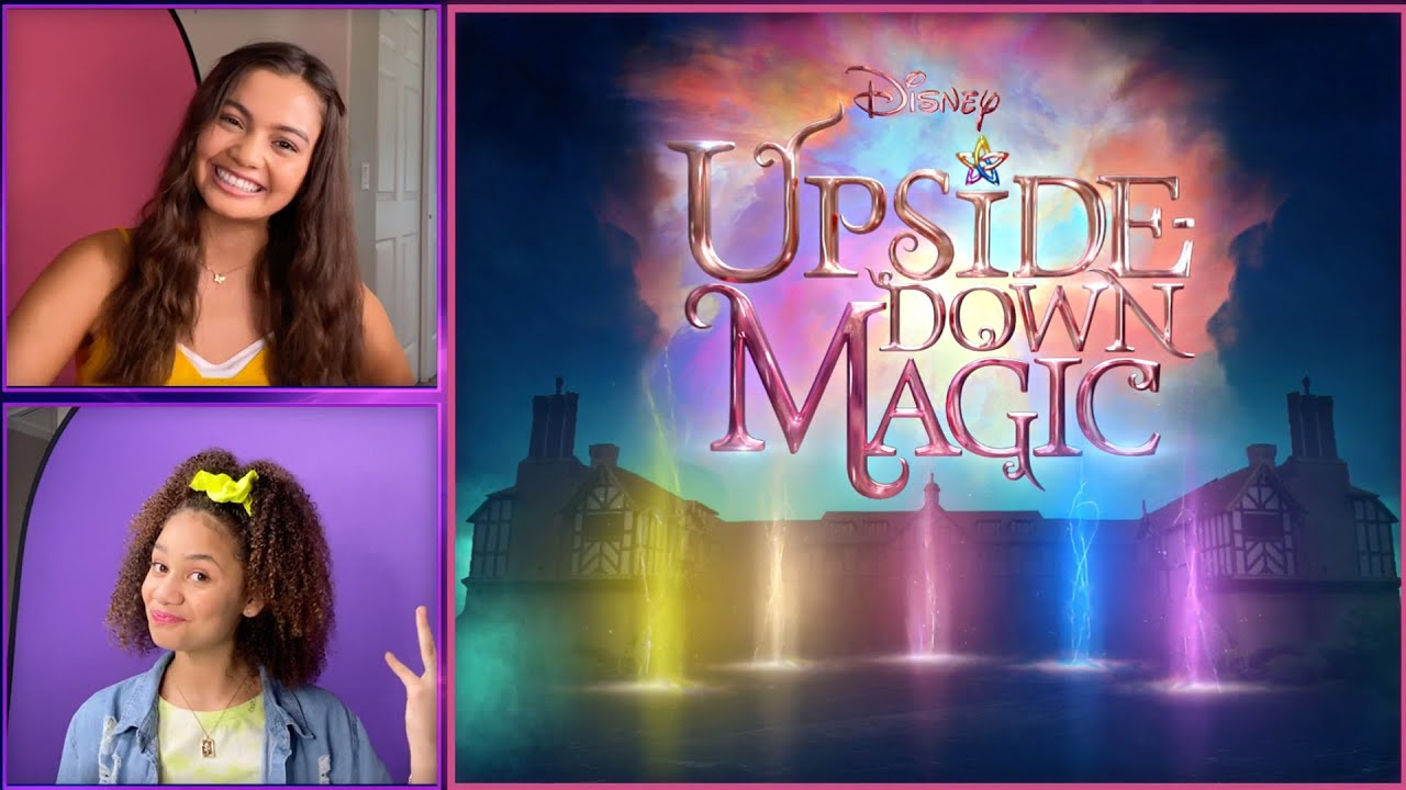 Udm Cast Surprises Make A Wish Kids Upside Down Magic Disney Channel Youtube