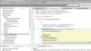 Enviar peticion POST a PHP desde Android - Conectar Android con una aplicacion web(php,mysql) pt2