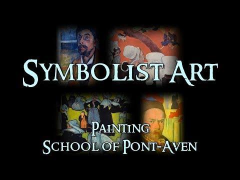 Symbolist Art - 3 Painting: School of Pont-Aven
