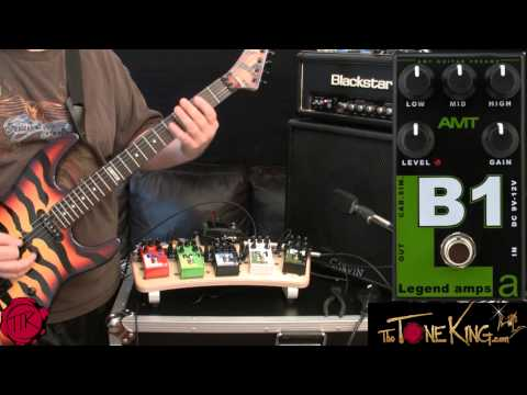 AMT Pedals R1 M1 F1 S1 B1 Play-Thru (DEMO & REVIEW)