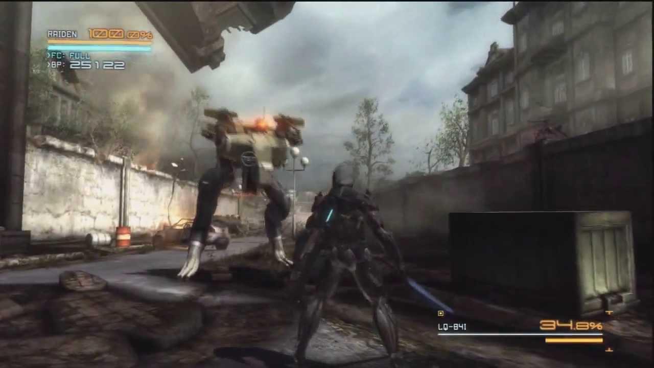Metal Gear Rising Revengeance: Playthrough Part 3 - Blade Wolf
