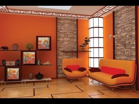 Солнечное Настроение в Интерьере создает Оранжевый Цвет