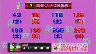 高知けいば中継 2020/07/04
