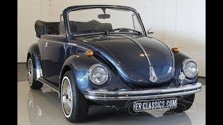 Volkswagen Beetle Cabriolet 1974 -VIDEO- www.ERclassics.com