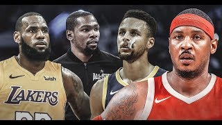 Top 10 Active Future NBA Hall Of Famers (2019)