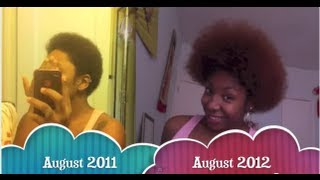 Natural Hair | One Year Natural
