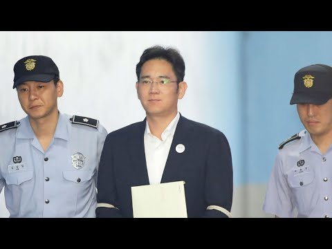 South Korean court sentences Samsung heir Lee Jae-yong to five years for corruption