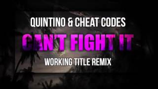 Quintino & Cheat Codes - Can