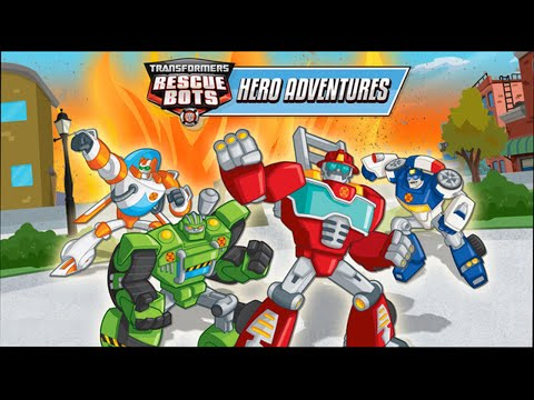 Transformers Rescue Bots: Hero Adventures (by Budge Studios) - HD Gameplay Trailer - iOS Universal