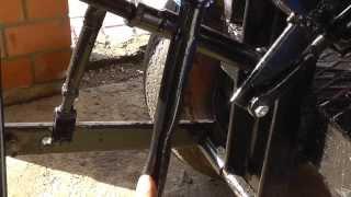 Мини трактор переломка. Подробное описание.(, 2014-01-11T14:54:39.000Z)