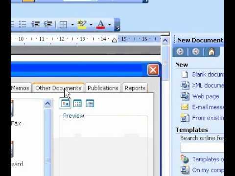 Microsoft Office Word 2003 Create an agenda YouTube – Agenda Word