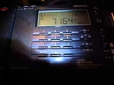 Tecsun PL-680 Vs PL-660 7165kHz Eritrea