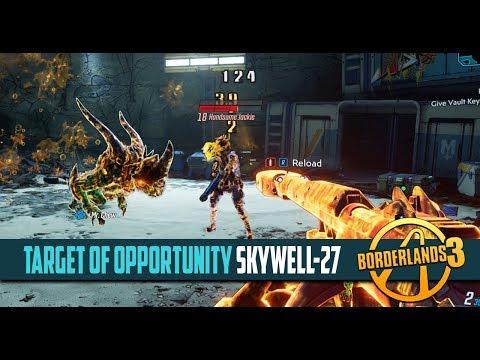 Borderlands 3 Skywell 27 Target Of Opportunity Crew Challenge